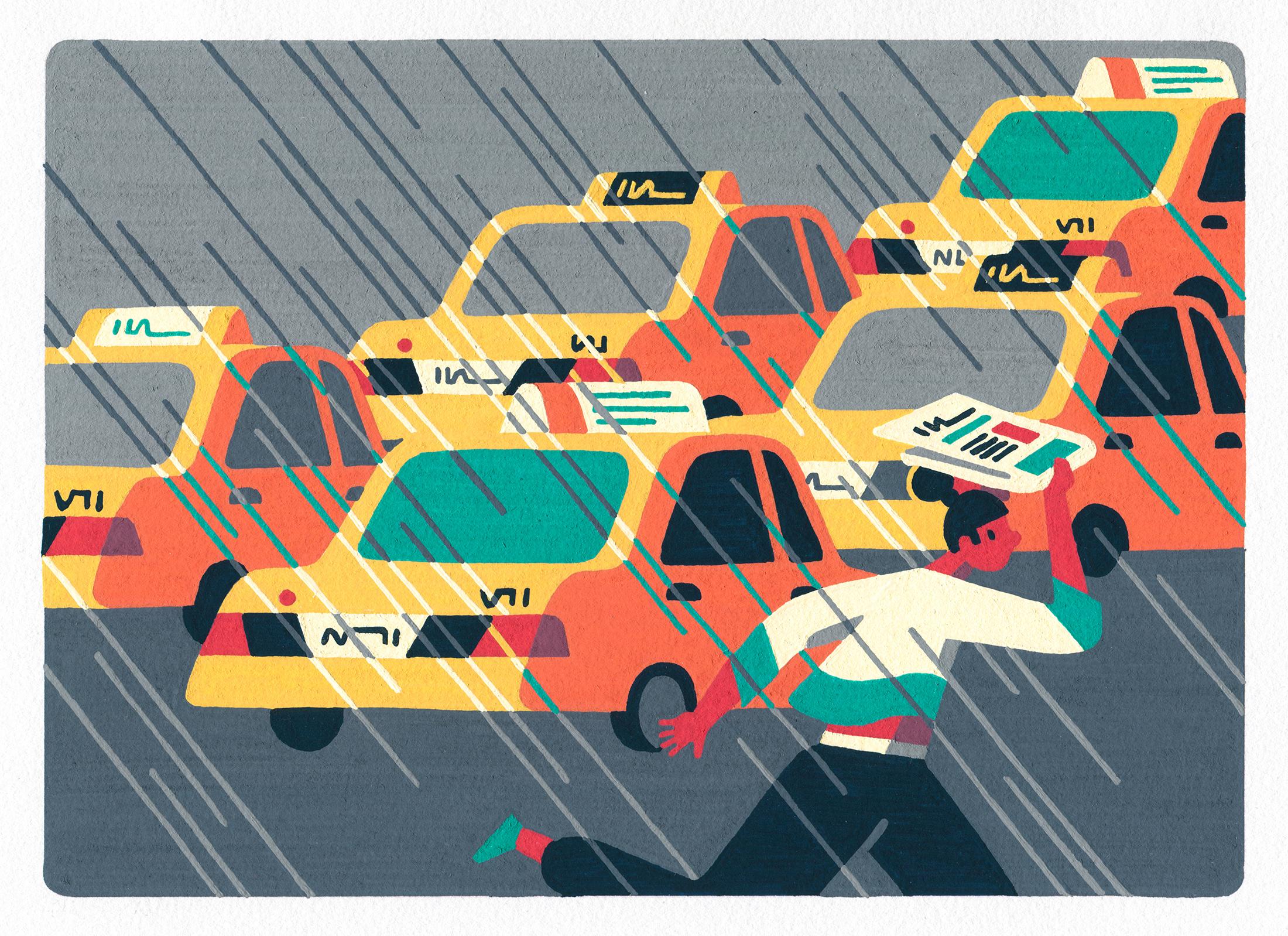 Illustration by Priya Mistry using Posca markers